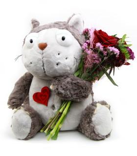 El Gato con Flores