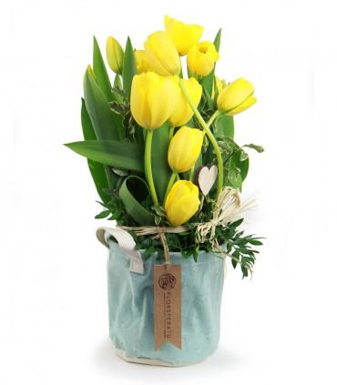 Saquito de Tulipanes