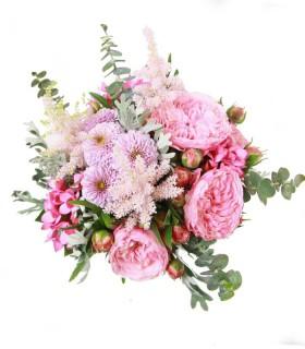Ramo Novia - Coral Rose