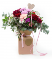 ramo de flores cupido