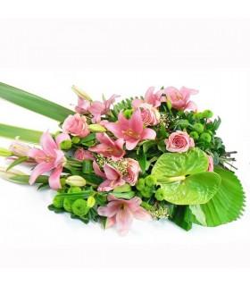 Ram difunt amb Roses Rosades