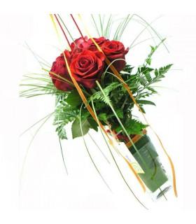 Bouquet 6 Rosas & Jarrón