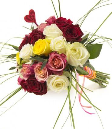 25 Roses Tutti-Frutti