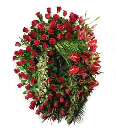 Corona Roses Vermelles