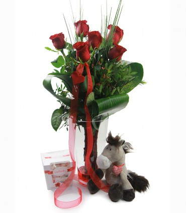Pack 6 Rosas