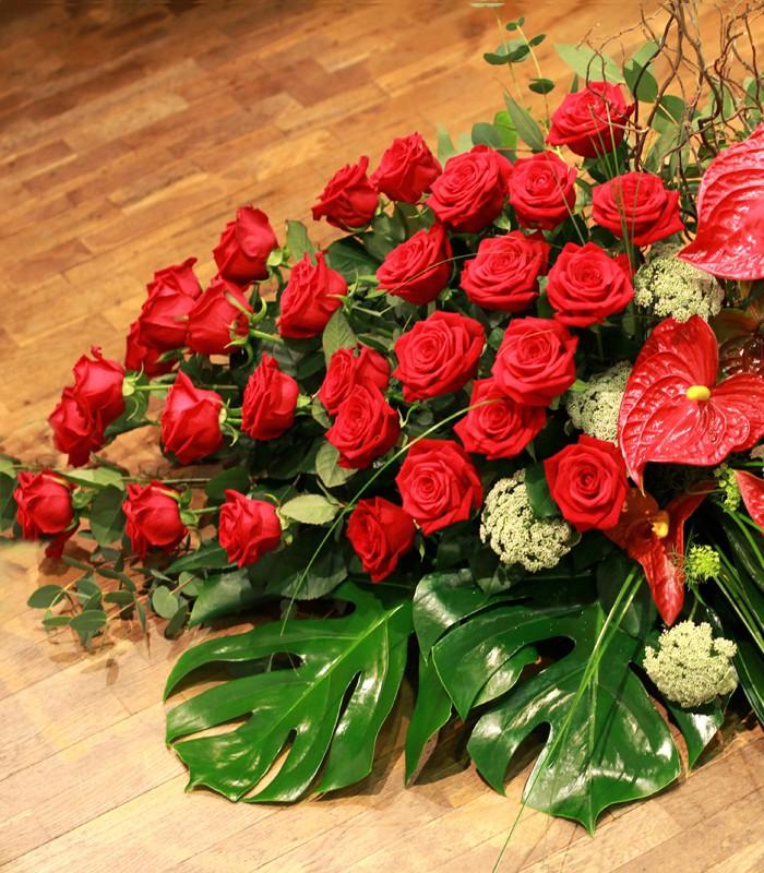 Cojín Selecto Rosas Rojas