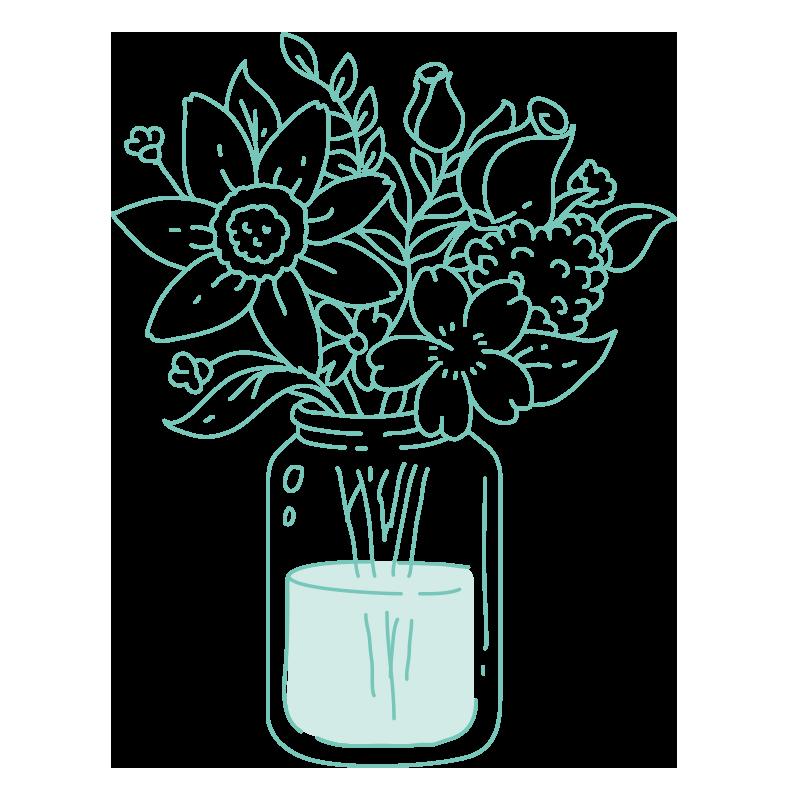 Consejo 3: Cambia el agua de las flores