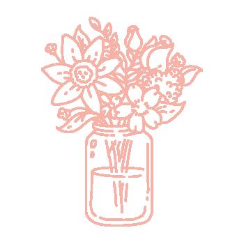 Añadir agua al ramo de tulipanes naturales